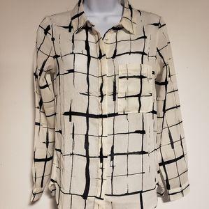 Size XS/S Garcia Jean's Button Blouse